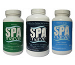 Spa Marvel Cleanser, Water Treatment & Conditioner and Filter Cleaner
