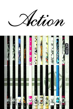 Action Billiard Cues
