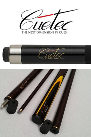 Cuetec Billiard Cues