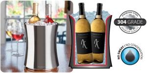 Double Bottle Wine Chiller
