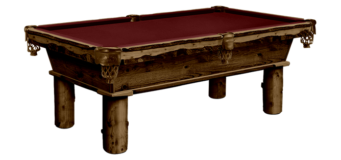 Rustic Series: Cumberland Pool Table