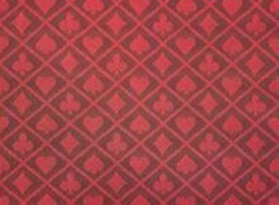 Blackberry Red Two Tone Poker Table Speed Cloth (19122)