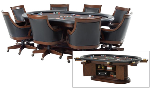Bonavista Game Table and Chairs