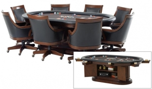 Bonavista Poker Table and Chairs
