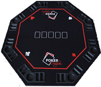 Deluxe Octagonal Poker Table Top