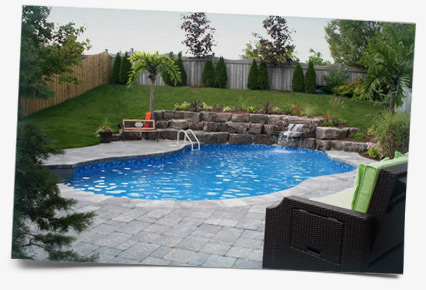 Testimonial Photo - Swimming Pool in Ancaster