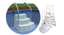 Step and Ladder Pool Entry Systems