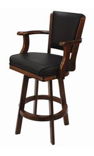 Bars Deluxe 30 Bar Stool With Arms The Pool Shoppe
