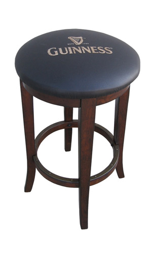 Guinness Backless Bar Stool