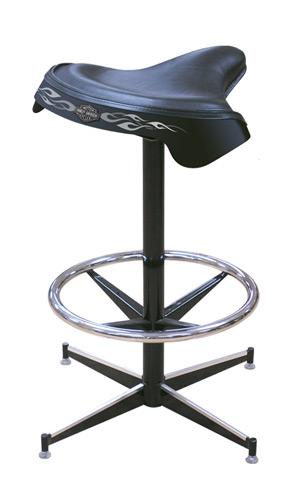 Harley-Davidson Solo Saddle Bar Stool