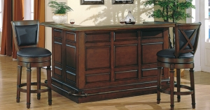 Manchester Distressed Walnut Bar Furniture