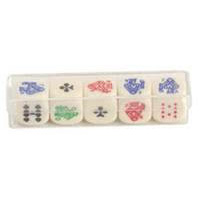 5 Piece Poker Dice
