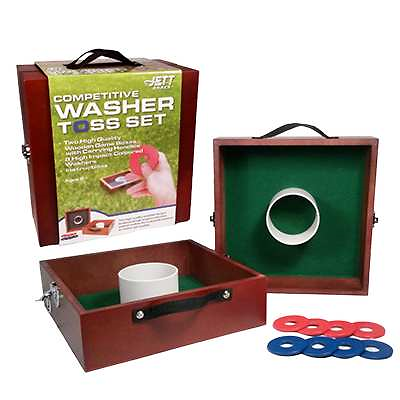 Competitive Washer Toss Set