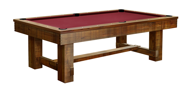 Rustic Series: Breckenridge Pool Table