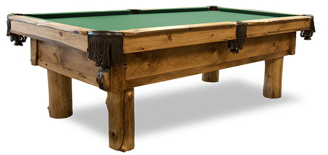 Pinehaven Rustic Pool Table