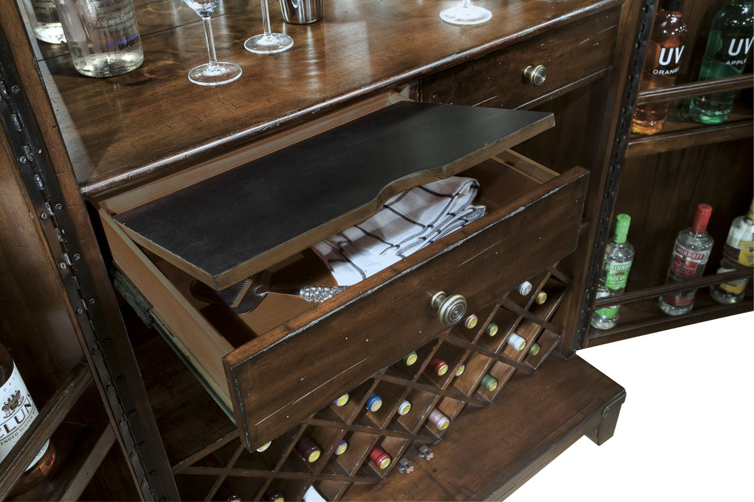 Bar Furniture Rogue Valley Wine Bar Cabinet