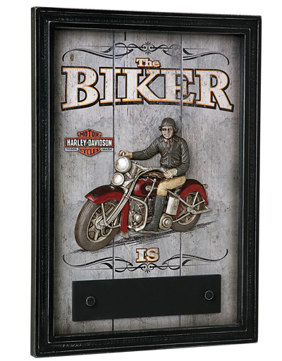 Harley-Davidson® Biker In/Out Sign