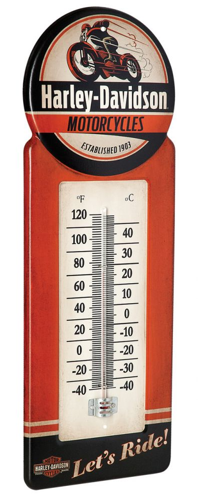 Harley-Davidson® Motorcycles Thermometer