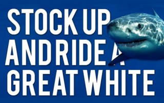 Stock up and ride a great white