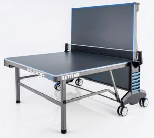 Kettler Indoor 10 Table Tennis / Ping Pong Table - Folded