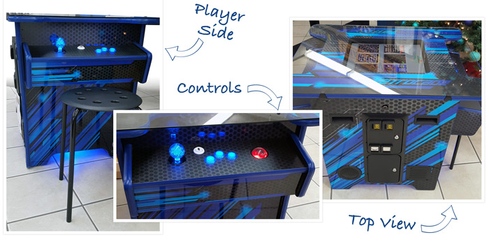 Cocktail Multicade Game