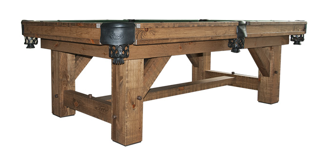 Olhausen Timber Ridge - Rustic Billiard Table