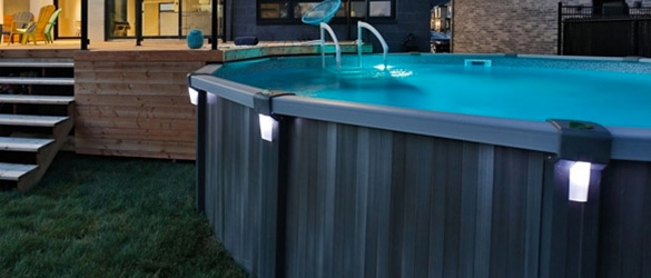 Aboveground pools in hamilton ontario the pool shoppe for Trevi pools