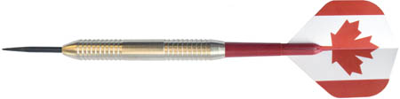 British Darts Canadian Nickel Grip Steel Dart Set