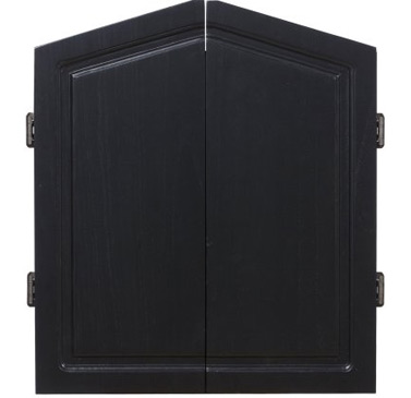 RAM Dartboard cabinet in Black