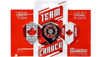 Team Canuck Dart Flights