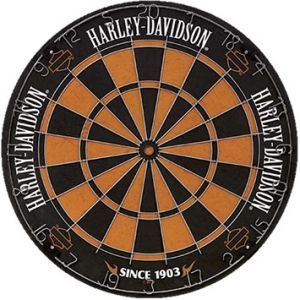 Traditional Harley Davidson Dartboard