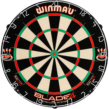 Winmau Blade 4 Dual Core Dartboard