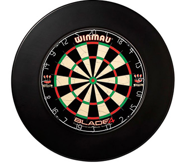 Winmau Circle Surround Plain Black