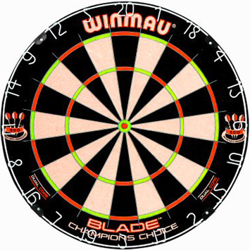 Winmau Dual Core Champions Choice Dartboard