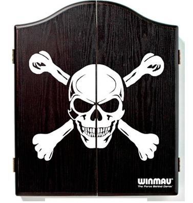 Winmau Skull and Bones Dart Cabinet