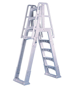 Slide Lock A-Frame Ladder