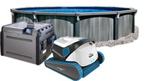 Aboveground Swimming Pools, Pool Equipment and Accessories