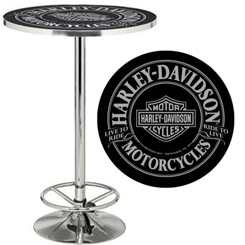 Harley Davidson 174 Products Pub Tables The Pool Shoppe