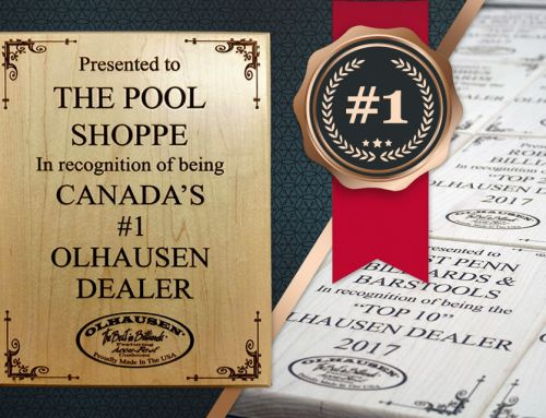 The Pool Shoppe is officially Canada's largest Olhausen dealer!