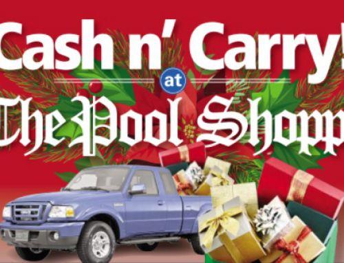 """Cash n' Carry"" Weekend Flyer"