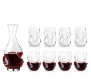 Decanter & 8 Glass - Conundrum