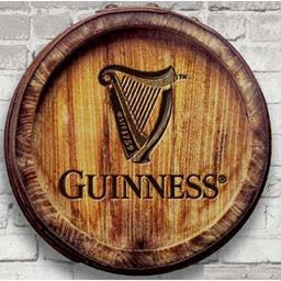 Guinness 3D Barrel Wall Art