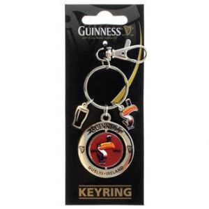 Guinness Toucan Spinner Keychain
