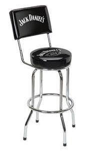 Jack Daniel's® Bar Stool w/ Backrest