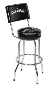 Jack Daniel's® Bar Stool w/ Backrest