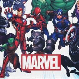 Marvel Universe Air Hockey Table