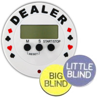 Poker Buttons and Timers