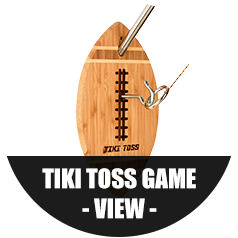 Tiki Toss Game Button