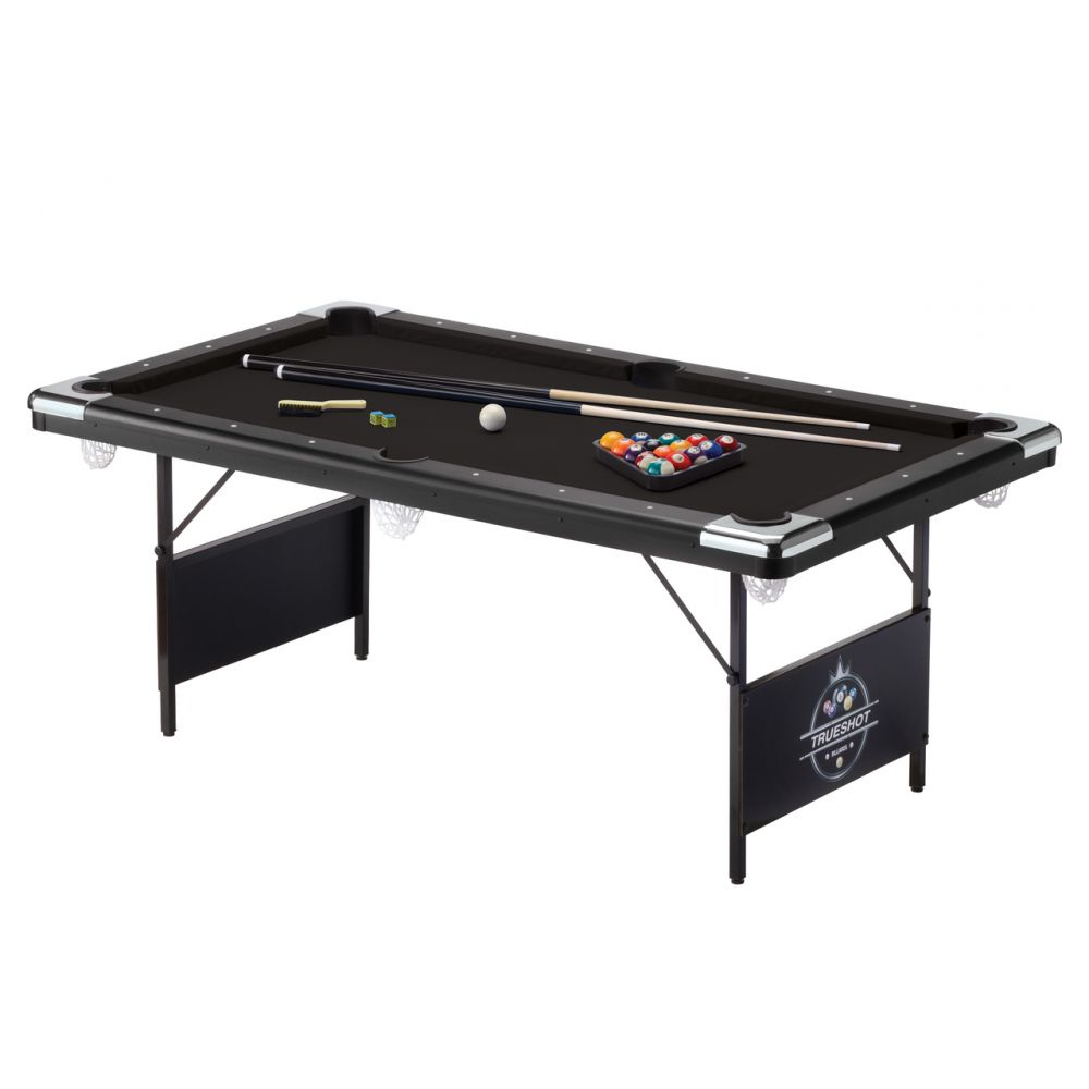Games Room: Fat Cat Trueshot Folding Billiard Table
