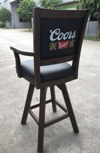 "Coors 30"" Bar Stool with Arms"